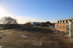The 'roof terrace'