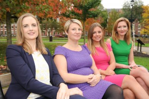 From left to right; Caroline Acton, Marie Walsh, Laura Clapton and Sally Clark