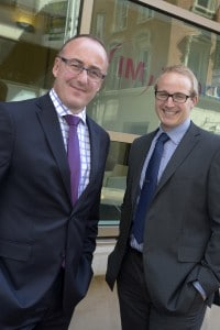 Gavin Faber and Doug Houghton from Irwin Mitchell's Will Trust and Estate Disputes Team