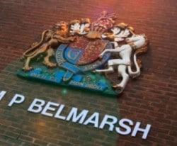 "Belmarsh: ""ridiculous"" incident"