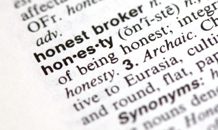Image Gallery honesty definition