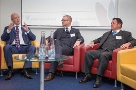 From left: Jeff Winn, Dene Rowe, Trevor Howarth