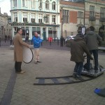 Making the Neil Hudgell Solicitors TV ad in Hull