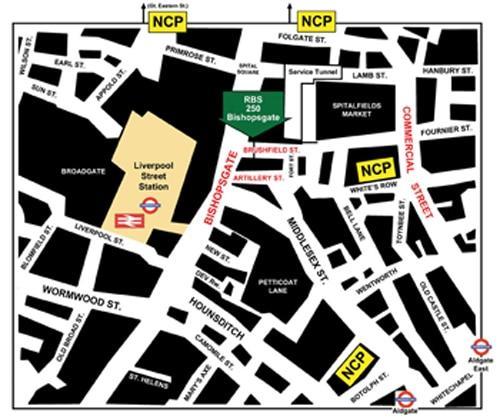 RBS Venue Map