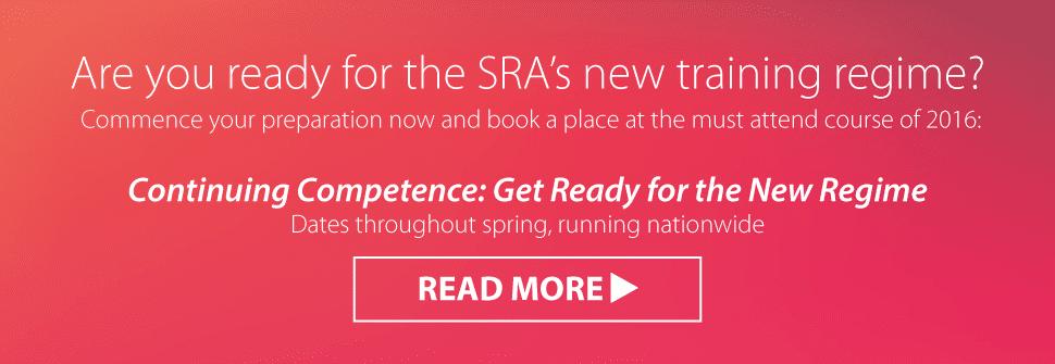 SRA New Regime