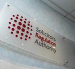 SRA reception sign