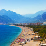 Beach at Antalya Turkey