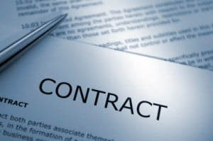 Contracts: online portal