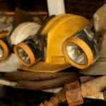 miners helment