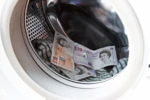 Transactions bore the hallmarks of money laundering
