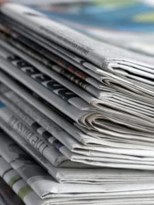 Newspapers: story has gone national