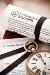 Probate: complaint arose from work on an estate