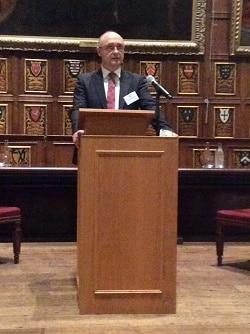Langdon: inaugural speech amid the splendour of Middle Temple Hall