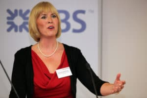 Christina Blacklaws speaking at a Legal Futures conference