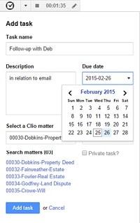 Clio - Gmail plug
