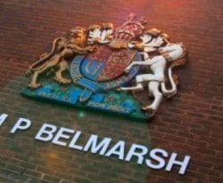 "Belmarsh: ""ridiculous"" incident"