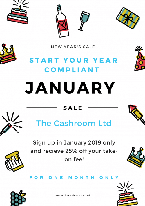 The Cashroom January Sale