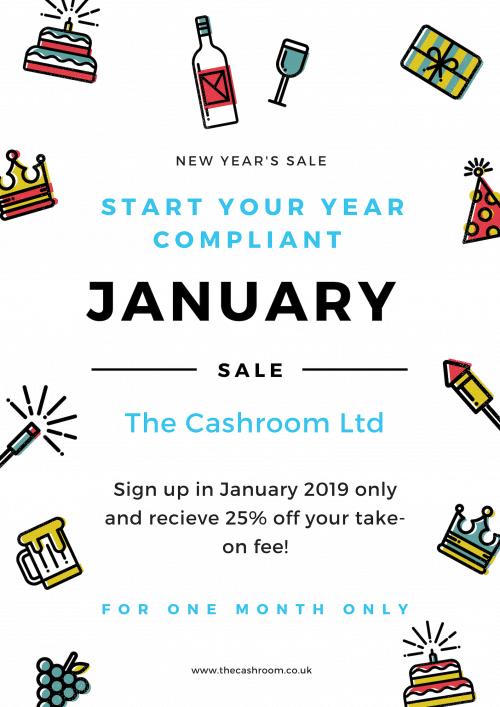 The Cashroom January Sale