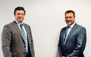 L-R Matthew Evans, data breach specialist and Kingsley Hayes, head of data breach at Keller Lenkner UK