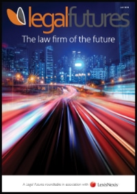 Legal Futures Roundtable Report in association with LexisNexis Enterprise Solutions: The law firm of the future - frontpage