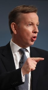 Gove: justice system is failing many