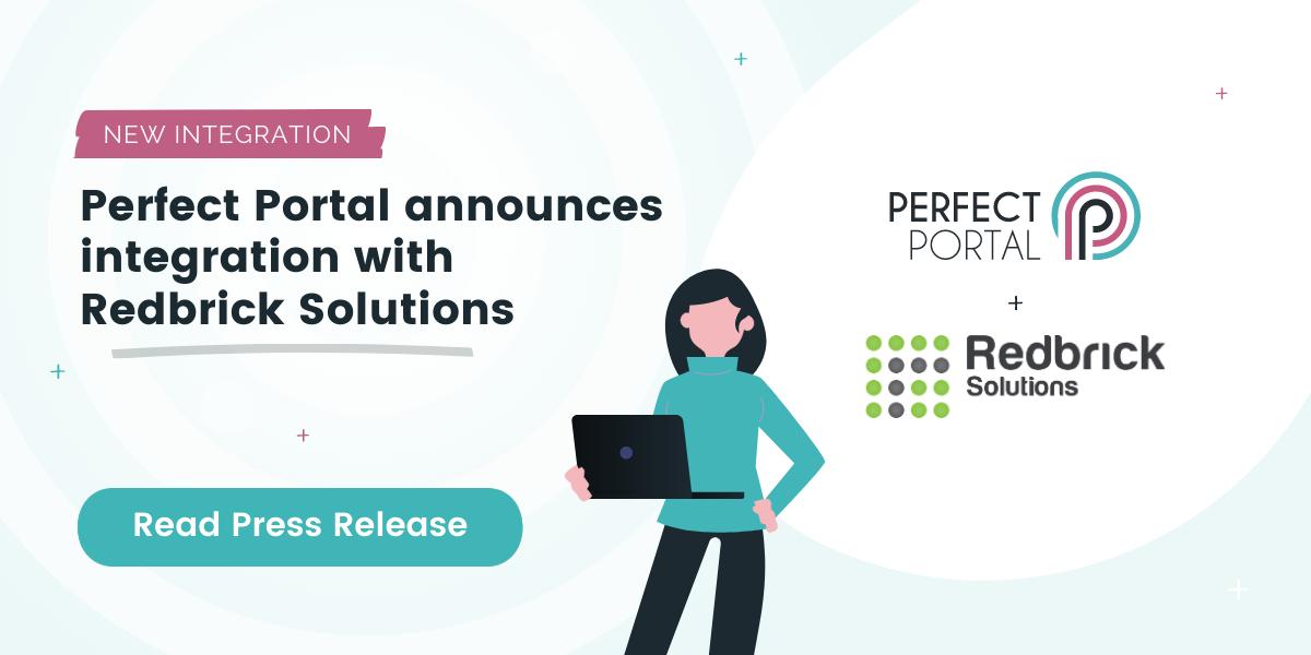 Perfect Portal & Redbrick Integration PR graphic