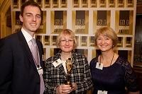 Philip Courtenay, Joyce Chaytor & Beverly Landais