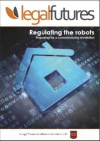 Legal Futures Roundtable Report in association with the CLC: Regulating the robots - frontpage