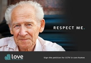 Respect me - install CCTV in care homes