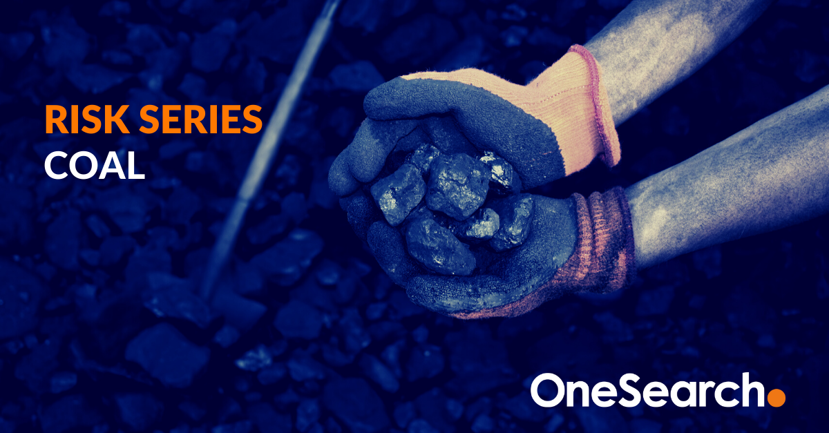 onesearch direct risk series coal
