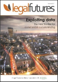 Legal Futures Roundtable Report in association with Search Acumen: Exploiting data - frontpage