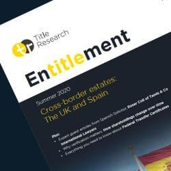 Title Research magazine