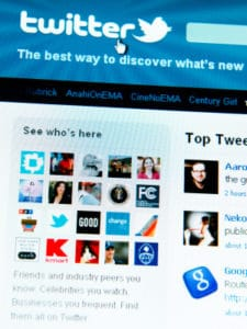 Twitter: sponsored tweet sparked complaint