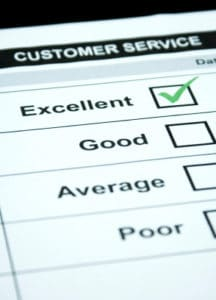 Survey: high levels of satisfaction