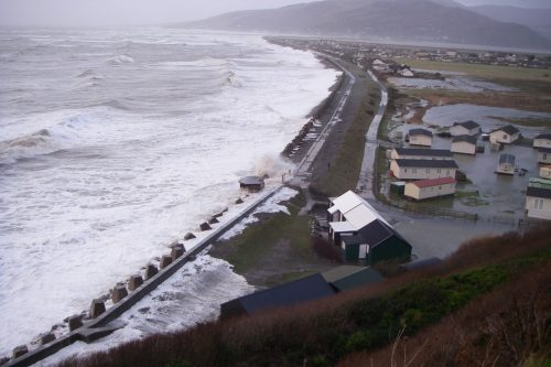 fairbourne in a storm
