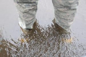 flooding legs