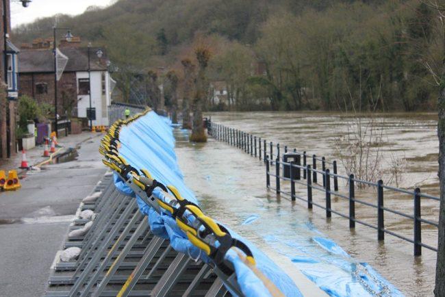 ironbridge flood barriers